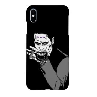 Xio Purple joker tattoo Smartphone cases