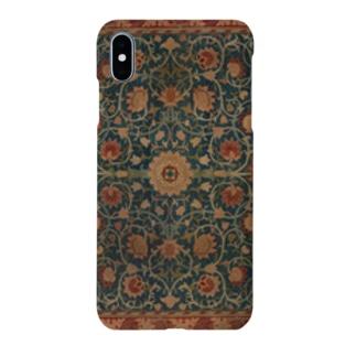 ウィリアム・モリス Holland Park carpet Smartphone cases