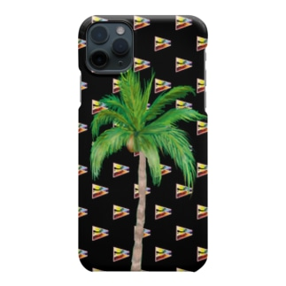 20183月ゲリラコレクション「miracle Palm tree」 Smartphone cases