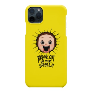 AKIRAMBOWのBreak out of your shell Smartphone cases