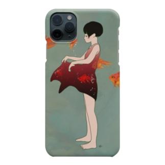 金魚のワンピース Smartphone cases