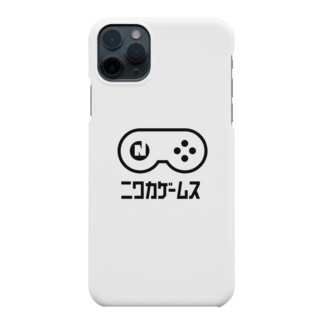 NIWAKA-WHITE スマホケース Smartphone cases