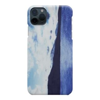 知床(水彩画) Smartphone cases