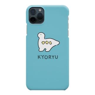 PACHIRICO!のキョーリュー青 Smartphone cases