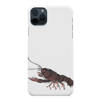 ザリガニのフジハシ君 Smartphone cases