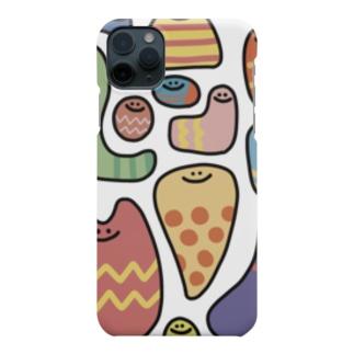 カラフルな謎の生き物 Smartphone cases