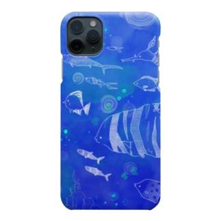 魚の行進 Smartphone cases