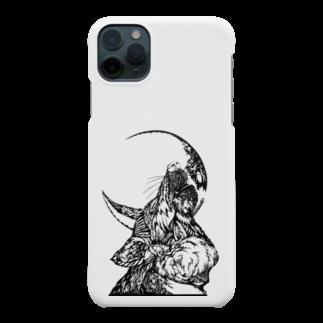 切り絵ariのWAON Smartphone cases