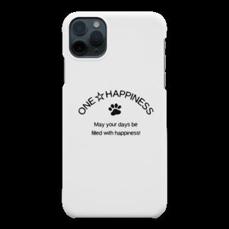 onehappinessのONE☆HAPPINESS Smartphone cases