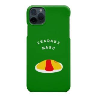 ITADAKIMASUスマホケース Smartphone cases