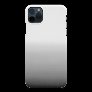 SHUNKAのブラックグラデーション(カーボン) Smartphone cases