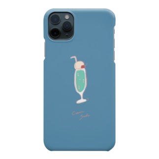 クリームソーダ別バージョン Smartphone cases