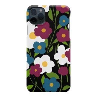 レトロフラワー Smartphone cases