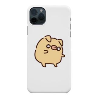 ゾンビぶぶスマホケース Smartphone cases
