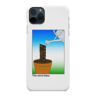The wind blew. Smartphone cases