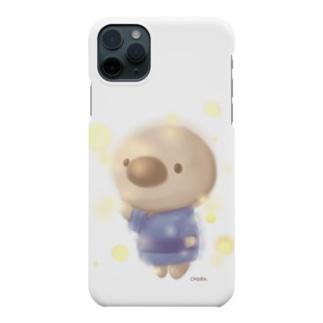 雫桜だんごの雑貨屋さんのホタルと ちょろ Smartphone cases