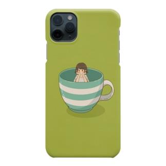 マグカップちゃん Smartphone cases
