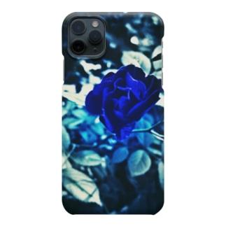 Blue Rose 幸運の青い薔薇 Smartphone Case