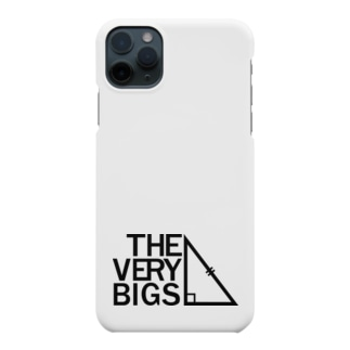 THE VERY BIGSオフィシャルグッズ【黒】 Smartphone cases