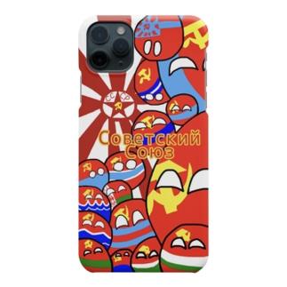 カントリーボール ソ連 ソビエト連邦 スマホケース  ソビエト社会主義共和国連邦 Smartphone cases