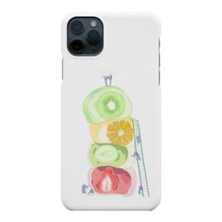 フルーツ大福食べに来た Smartphone cases