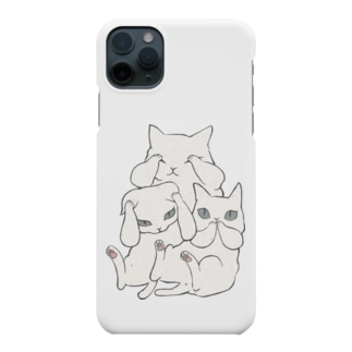 3にゃいねこ Smartphone cases