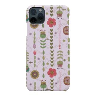 フラワー Smartphone cases