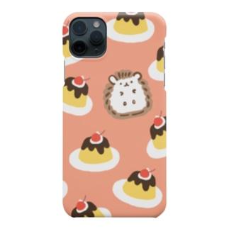 ハリネズミと夢のプリン王国 Smartphone cases