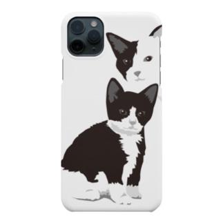 猫/親子/ダジャレなし Smartphone Case
