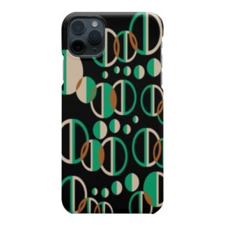 レトロ柄 Smartphone cases