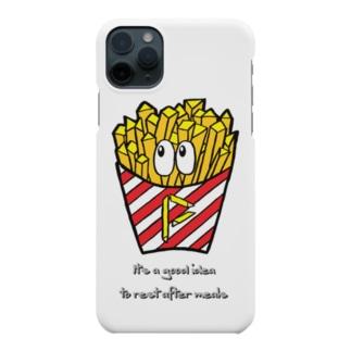 フライドポテト/モンスター Smartphone cases