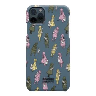 お人形と少女 Smartphone cases