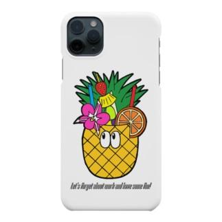 パイナップルジュース/モンスター Smartphone cases