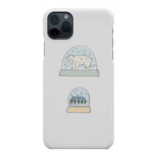 スノードーム Smartphone cases