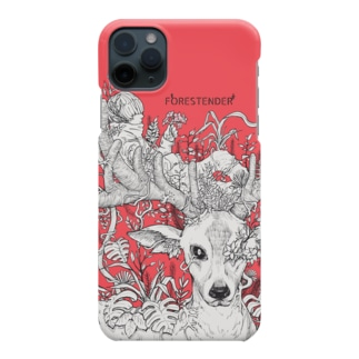 KINOのFORESTENDER(red) Smartphone cases