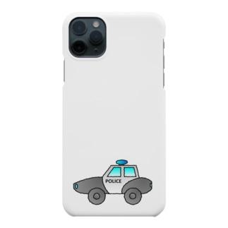 警察車両 Police Car Smartphone cases