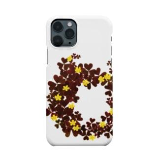 アカカタバミ Smartphone cases