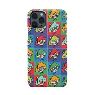 リボンガール マルチカラーver. Smartphone cases