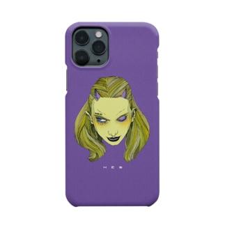 目デ殺ス ハードタイプ Smartphone cases