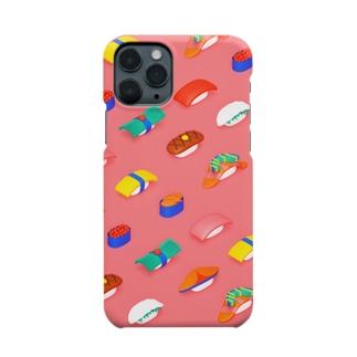 推し寿司 Smartphone cases