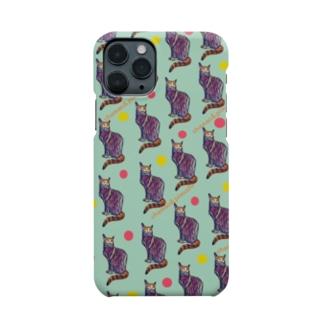 chamao&pimushiの【ねこ】ねこ好きさんへ No.2 Smartphone cases