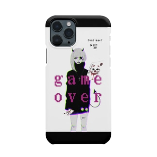 game over🎮👾 Smartphone cases