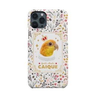 鳥貴族 シロハラインコ Smartphone cases