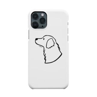 aya1のゴールデン・レトリーバー〈線〉 Smartphone Case