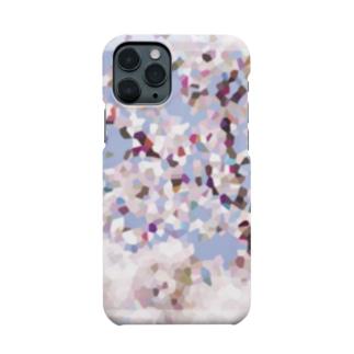 sakura-filmsの桜モザイクアート Smartphone cases