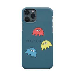 うちゅ〜じん Smartphone cases