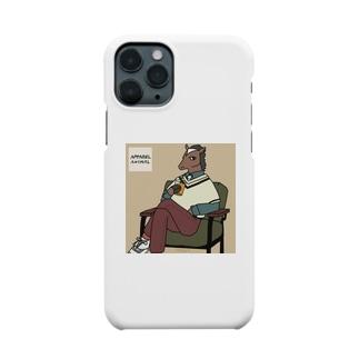 カーキソファ×ウマ Smartphone cases