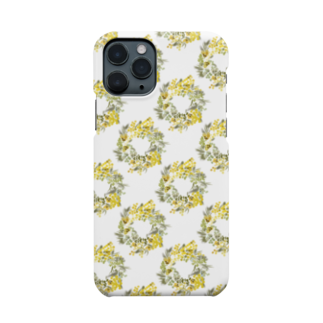 Liar*bunnyのyellow bouquet Smartphone cases