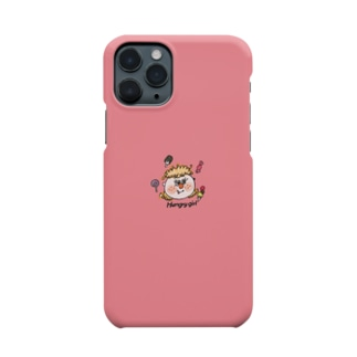 hungry girl Smartphone cases