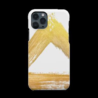 ✷書道家  𝐍𝐨𝐳𝐨𝐦𝐢 ✷の【iPhoneケース】 はみだしさんかく。 Smartphone cases